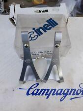 Cinelli Med Toe Clips NEW NOS Vintage Rare NIB Colnago bianchi pinerello Moser
