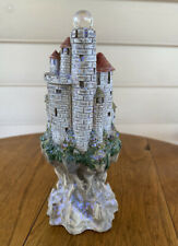 Mythical & Magic Spoontiques Resin 6.5� Tall Castle with Crystal Ball Great Cond