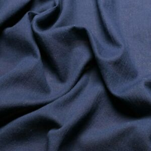 Single Gauze fabric - 100% Cotton - Off-white, navy and red - Dress fabric