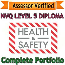 NVQ Level 5 Diploma Health and Safety ANSWERS 2019 VERSION **Assessor Verified**