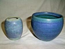 2 x Mobach Vase Keramik Utrecht Niederlande Vintage Dutch - 60/70er Jahre