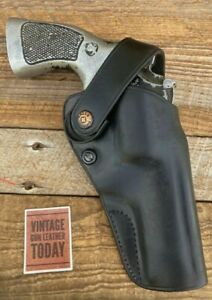 """Galco D.A.O. Dual Action Outdoorsman  Holster in Black for L Frame 4"""" & Others"""