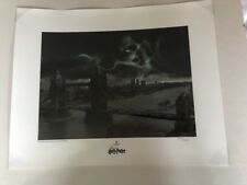 Rare Harry Potter Studios Tour Numbers Death Eater Dark Mark Print Brand New