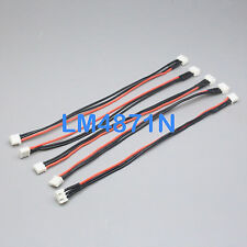 5x JST-XH Balance Charger Extension Wire 20CM 2S 7.4V Lipo Battery Turnigy Zippy