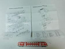 AK149-0,5# Märklin H0 Liste d'éléments Locomotives 3084 et 3684 de 1989