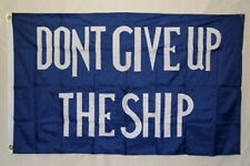 2x3 Commodore Perry Dont Give Up The Ship Flag 2'x3' House Banner ( new )