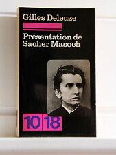 Gilles Deleuze PRESENTATION DE SACHER-MASOCH  LE FROID ET LE CRUEL La VENUS