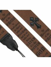 Christian Guitar Strap - The Cross - 1 Corinthians 1:18