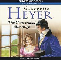 The Convenient Marriage: by Georgette Heyer- Unabridged Audiobook - 8CDs