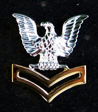 2nd CLASS PETTY OFFICER GOLD GOOD CONDUCT HAT PIN UP E-5 CROW SAILOR US NAVY