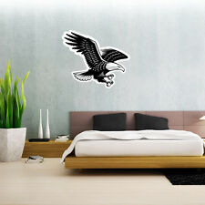 "American Bald Eagle Wall Decal Large Vinyl Sticker 25"" x 21"""