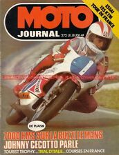 MOTO JOURNAL  272 HONDA CB 750 Four JAPAUTO VX 1000 GUZZI 850 Le MANS KTM TT 76