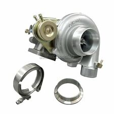 "T3 Wastegate Turbo Charger 0.48 Exhaust 0.60 Compressor 2.5"" V-Band Clamp Flange"