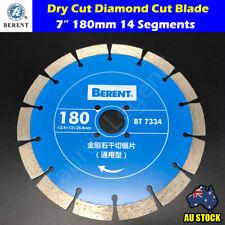 "180mm Diamond Cutting Blade Dry Cut 7"" Saw Disc Marble Granite Concrete BT7334"
