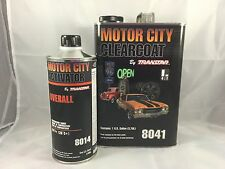 MOTOR CITY CLEARCOAT(8041) WITH ACTIVATOR(8014) OVERALL by TRANSTAR