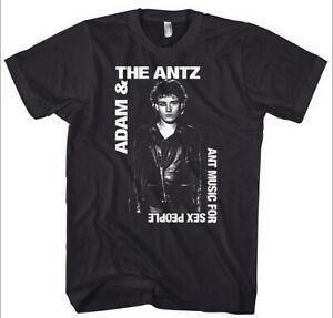 Adam and the Ants (Antz) - Hand Silk Screened, Pre-shrunk 100% Cotton T-Shirt