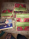 Vintage Light Set Candelabra ROYAL Christmas Peerless GE Mazda Lamps Bulbs