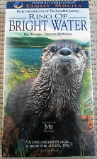 RING OF BRIGHT WATER 1998 VHS NTSC, OTTER, WILDLIFE, FAMILY NEW, BOGO @ 75% OFF