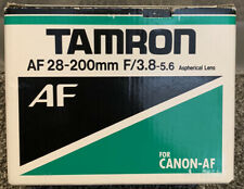 Tamron AF Aspherical 28-200mm F/3.8-5.6 IF Lens for Canon FOR CANON-AF Box Only