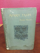 Merry Tales - Mark Twain First (1st) Edition - 1892