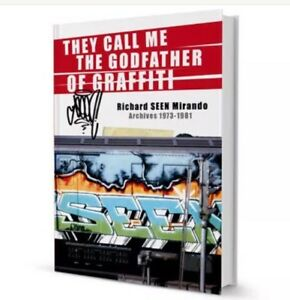 Seen graffiti >> They Call Me The Godfather Of Graffiti By SEEN.... 292 Pages!!!