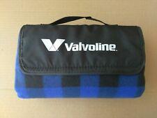 VALVOLINE roll up blanket stadium beach picnic camping fleece blanket
