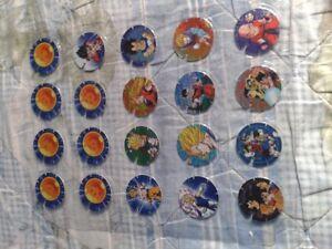 Tazos Dragon ball Z / Mexico / Gamesa / Full collection / 30/30 / Pogs