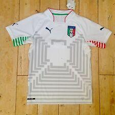 Puma Italien Torwart Fußballtrikot Trikot 2014/16 weiß SELTEN Probestück M