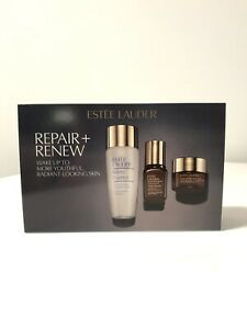 Estee Lauder Repair + Renew 3 Pieces Gift Set (Limited Edition) New With Box