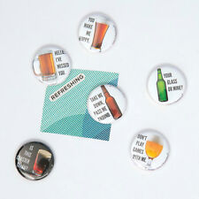 Design Ideas BeerMe Beer Slogan Magnets Set of 6 different styles #3205818