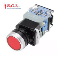 D.22mm 1NO 1NC Auto Pulsante Reset interruttore a pressione LUMINOSO LED