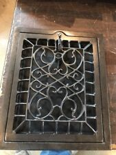 Br 37 Antique Wall Mounted Heating Grate Swirly 10 X 12 H