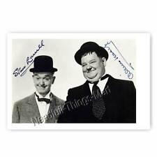 Stan Laurel and Oliver Hardy / Dick und Doof - Autogrammfotokarte [A2] 