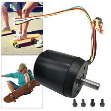 Brushless Motor Nabenmotor Sensor Antrieb Für DIY Elektro Skateboard 1820W 270KV