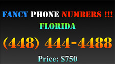 New listing Fancy Phone Numbers ! Florida (448) 444-4488