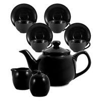 Amsterdam Tea Set - 6 Cup - Black