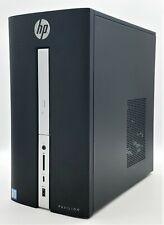 HP Pavilion 570-P054 Core i3-7100 3.90GHz 8GB DDR4 RAM 256GB SSD Win10 Wi-Fi