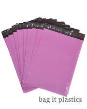 Metalic Pink Mailing Bags Postal sacks Plastic Envelopes Self Seal Post Bag