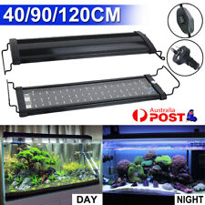 40 90 120CM Aquarium LED Lighting Marine Aqua Fish Tank Light Blue&White Lamp AU