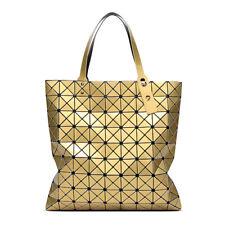 Geometry Sequins Japan Bao Shoulder Bag Ladies Folding Bags Women Handbags 9*9