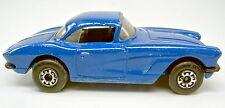 1-75 Superfast 62D 1962 Corvette Pre-pro in d'blau mit schwarzer Einrichtung