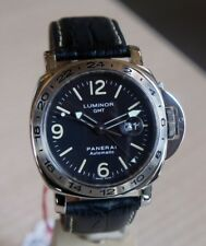 Panerai LUMINOR GMT pam00023 PAM 23 ACCIAIO INOX TRIZIO Full Set