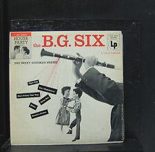 "The Benny Goodman Sextet - The B.G. Six 10"" LP VG+ CL 2564 1956 1st Vinyl Record"