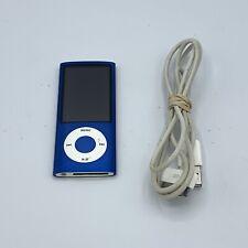 Apple iPod Nano 5th Generation Blue 8GB w/ Camera Model A1320