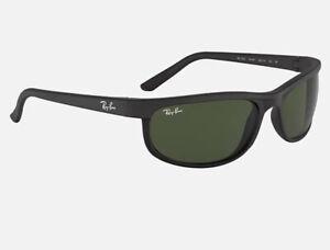 Ray Ban RB 4114 Matte Black Large Predator Sport Sunglasses New