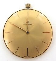 GREAT DIAL / BUCHERER 17J CAL. 330 ULTRA THIN POCKET WATCH MOVEMENT & DIAL.