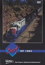 Best of 1984 DVD Alaska SF SP UP Railroad Pentrex NEW!