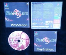 SHAOLIN : JEU Sony PLAYSTATION PS1 PS2 (Thq COMPLET envoi suivi)