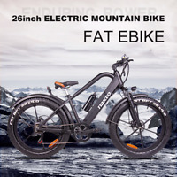 "TRIAD NAKTO  COMPACT 400W 26"" Fat eBike Electric Bike 48V Magnesium Alloy"
