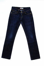 Levis 470 Damen Faded Dark Blue Straight Fit Denim Jeans w28 l30 uk10 Stretch